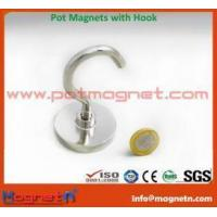 Wholesale NdFeB Pot Magnet with Eyelet from china suppliers