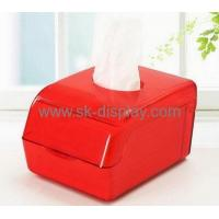 Wholesale Hot selling clear plastic storage box mini tissue box plastic storage box with lid DBS-111 from china suppliers
