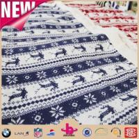 Wholesale Wooden christmas 100% acrylic cable knit throw blanket from china suppliers