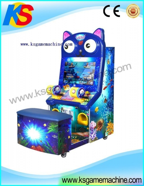Kiddy game cat fishing game for play parks indoor fishing for Cat fishing game