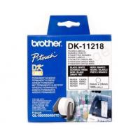 Wholesale Brother P-Touch DK-11218 24mmx24mm Round Labels 1000 Labels Ref DK11218 *3 to 5 Day Leadtime* from china suppliers