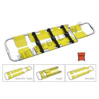 China Aluminum Folding Scoop Stretcher Hospital Patient Transfer Stretcher NF-C2 on sale