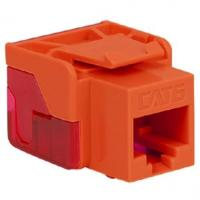CAT 6, EZ MODULAR CONNECTOR, ORANGE Modular Connectors