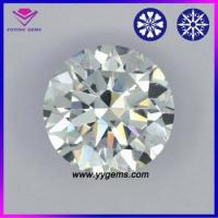Wholesale CZ gemstone factory price wholesale white round diamond cutting cz jewelry cubic zirconia 8 hearts from china suppliers