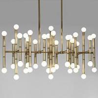 Wholesale Ceiling Lights Meurice Rectangular Chandelier from china suppliers