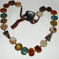 Carolee Neutral Ground Mixed Stone Necklace