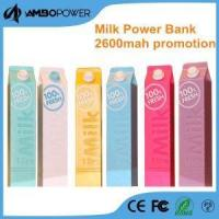 Trending High Quality Factory Price Creative Milk Style Power Bank