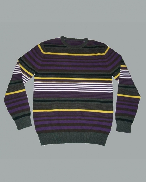 Knitting Machine For Sale Near Me : Men s oxford striped wool sweater of item