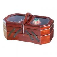 Sewing Kit Cantilever Wooden Box