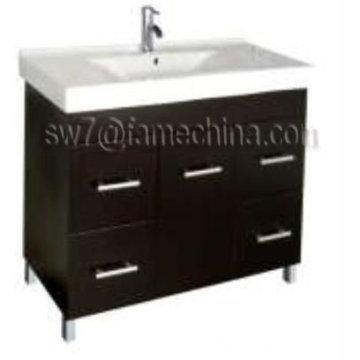 High gloss floor standing mdf bathroom corner cabinet of for Floor standing corner bathroom cabinet