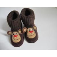 Buy cheap Knit Fabric Boots Contact Now Lovely Big Mouth Monkey Heads Boots For Girls from wholesalers