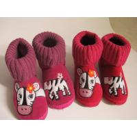 Buy cheap Knit Fabric Boots Contact Now Lovely Cow Heads Boots For Girls from wholesalers