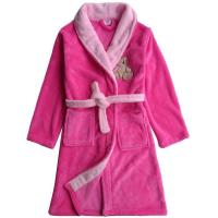 BR-CT008100% polyester microfiber Bathrobe with embroidery logo