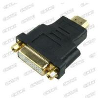 Wholesale HDMI male to DVI female Gold plated connectors from china suppliers