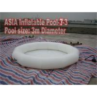 Wholesale White Color Kids Inflatable Water Pool 3m Diameter from china suppliers