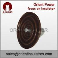Wholesale ANSI 52-8 disc suspension insulator,suspension type insulators overhead lines from china suppliers