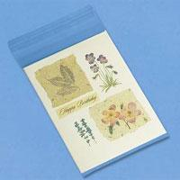 China Blank Greeting Card Sleeves bulk 100-pk on sale