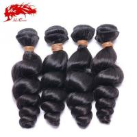 Wholesale Ali Queen 4pcs Unprocessed India Loose Wave Natural Color Cheap Real Hair Extensions Free Shipping from china suppliers