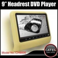China 9 car headrest DVD player with HDMI input for backseat entertainment system on sale