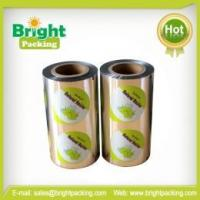 China Easy Peelable Lidding Film for Combined Cups on sale