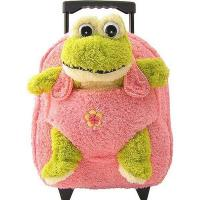 Wholesale Kids-Beige-Rolling-Backpack-With-Frog from china suppliers