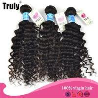 Wholesale 7A 100% Brazilian hair deep curl 3pc/Lot from china suppliers