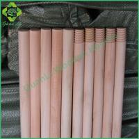 Natural wooden handle for grass broom