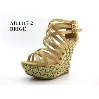 Wholesale AI11117-2-BEIGE-Heels from china suppliers
