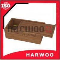 Wholesale Slide Lid Bamboo Wood Box from china suppliers