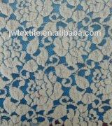 Wholesale 2014 Hot sale flower brush lace spandex cotton fabric JW0100 from china suppliers