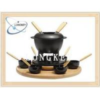 Wholesale Cast Iron Fondue Sets Product Serial: LQ 8604 from china suppliers