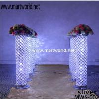 Wholesale Decorative Crystal Wedding Pillars/Columns for sale/LED Columns/Wedding Backdrop from china suppliers