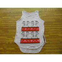 Wholesale Custom Make Men Tank Tops White Color from china suppliers
