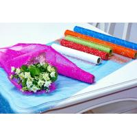Wholesale Flower Wrapping Materials organza by the roll Dot Foamed Organza Rolls from china suppliers