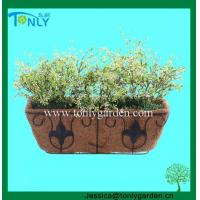 Wholesale Wire Planter Baskets Metal Garden Trough Planter from china suppliers