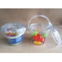 Wholesale Plastic ice bucket with 16pcs fruit shape ice cubes reusable from china suppliers