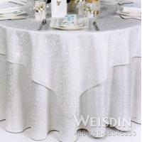Wholesale 100% cotton underlay crinkle table cloth from china suppliers
