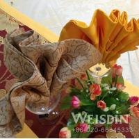 restaurant napkin folding styles organic cotton plain napkin