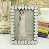 Wholesale Metal photo frame/teardrop crystals photo frame from china suppliers