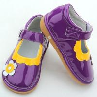 Wholesale purple plain funky squeaky shoes for babies-BBGB0947 from china suppliers