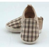Wholesale High style slip on baby shoes crib shoes for baby boys BHCA0523 from china suppliers