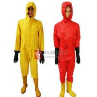 Semi-closed chemical suits
