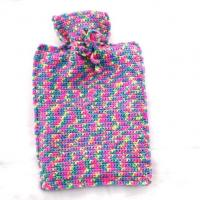 Wholesale full color knit hot water bottle cover from china suppliers