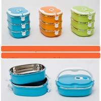 Wholesale stainless steel lunch box , bento lunch box from china suppliers