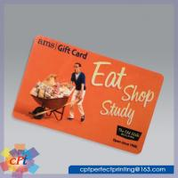 Wholesale Full color printing Plastic gift card from china suppliers