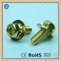 Wholesale Color Zinc Plated Cross Hex Head Screw from china suppliers