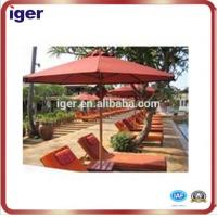 Wholesale stainless steel outdoor large patio umbrellas from china suppliers