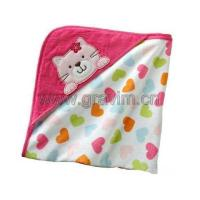 Plush Animal Baby Garment/ Baby Blanket