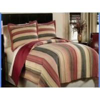 Wholesale 100% cotton twin fitted bedspread patchwork quilt