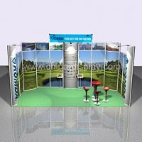 China Light Box Aluminum Exhibition Booth on sale
